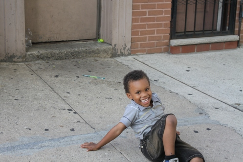 Just having fun in the Stuy!