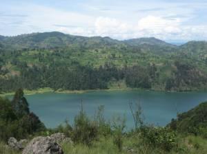 Lake Kivu from Mugonero