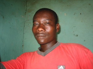 My friend in Kibuye