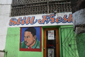 I love Barbershops in Haiti! ©Lodz Joseph