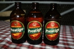 The only beer to have in Haiti is Prestige! © Lodz Joseph