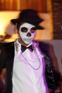 Look at the those eyes! RAM + Day of the Dead = Good Times! ©Lodz Joseph